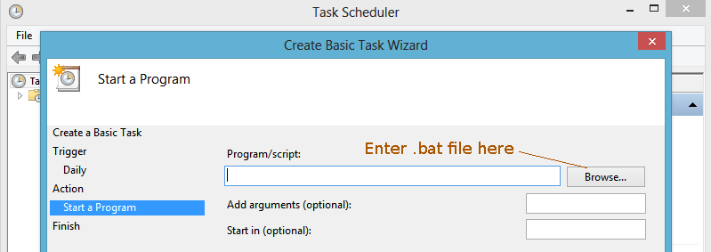 task scheduler bat file